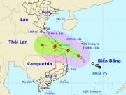 Tin tức trong ngày - Áp thấp nhiệt đới tiến gần bờ, Đà Nẵng – Quảng Ngãi cấm biển