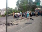 Tin tức trong ngày - Ô tô lấn làn tông chết 2 nữ sinh, 1 nữ sinh bị thương