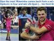 CK US Open: Hạ Djokovic, thế giới ngả mũ trước Wawrinka