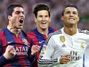 Bóng đá - Đội hình trong mơ Cúp C1: CR7 sát cánh Messi-Suarez