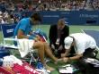 US Open: Nghi án Nole giả đau, chơi chiêu với Wawrinka