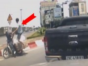 Video An ninh - Những pha đâm chém kinh hoàng sau va chạm giao thông