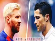 Bóng đá - Messi thăng hoa, Ronaldo giơ ngón tay thối về đồng đội