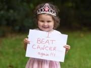 Phi thường - kỳ quặc - Bé gái Anh 4 tuổi chiến thắng 7 khối ung thư trong cơ thể
