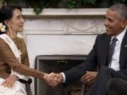 Mỹ dỡ lệnh cấm vận thương mại Myanmar