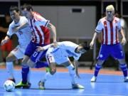 """Bóng đá - Ảnh: Futsal Việt Nam """"trở lại mặt đất"""" trận gặp Paraguay"""