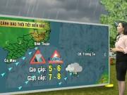 Tin tức trong ngày - Dự báo thời tiết VTV 16/9: Nam Bộ có mưa dông