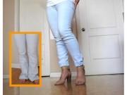 Thời trang - Roẹt! Biến quần jean cũ thành mới cực ấn tượng!