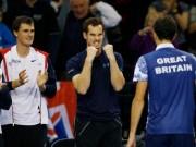 Thể thao - Anh em Murray lỡ đám tang ông nội vì Davis Cup