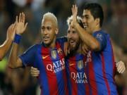 """Bóng đá - Bộ ba """"MSN"""" 266 bàn: """"Quả bộc phá"""" của Barca"""