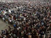 Thế giới - 23 bức ảnh cho thấy Trung Quốc đông dân đến nghẹt thở