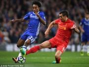 Bóng đá - Chi tiết Chelsea - Liverpool: Thế công yếu ớt (KT)