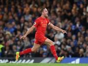 """Bóng đá - SAO Liverpool sút xa cực đẹp khiến Courtois """"đứng hình"""""""