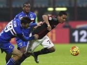Bóng đá - Sampdoria - AC Milan: Căng thẳng đến phút cuối cùng