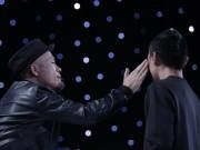 """Huy Tuấn  """" tát """"  thí sinh VN Idol trên sóng truyền hình"""