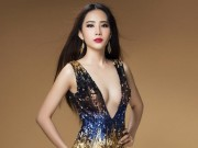 """Thời trang - Nam Em """"nóng từng cm"""" trước khi thi Hoa hậu Trái đất"""