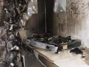 Tin tức trong ngày - Bình gas phát hỏa, người đàn ông nấu ăn cháy như đuốc