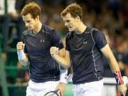 Thể thao - Anh em Murray giúp VQ Anh tạm thoát hiểm ở Davis Cup
