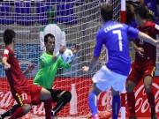 Bóng đá - ĐT futsal VN chiến đấu 200% sức lực với đội Ý