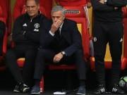 Bóng đá - MU: Mourinho trách trọng tài và... thần may mắn