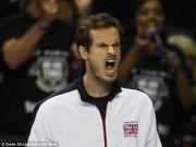 Thể thao - Murray thắng, VQ Anh vẫn thành cựu vương Davis Cup