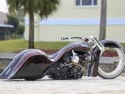 """Thế giới xe - """"Chết lặng"""" với Harley Road King độ bánh Hubless không chấu"""