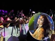 Ca nhạc - MTV - Fan vượt rào chắn, trèo cây xem Đông Nhi biểu diễn