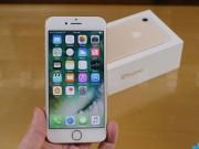 Dế sắp ra lò - Đập hộp iPhone 7 vừa lên kệ