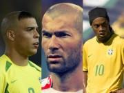"""Bóng đá - Ro """"béo"""", Ro """"vẩu"""", Zidane đọ tài ghi bàn thời """"hàn vi"""""""