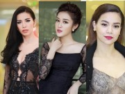 """Thời trang - Mỹ nhân Việt """"đốt mắt"""" với ren xuyên thấu"""