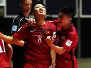 Báo thân Barca chờ futsal Việt Nam gây sốc trước Nga