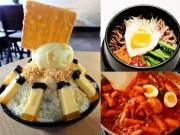 Ẩm thực - Những đặc sản xứ Hàn gây sốt trong giới trẻ