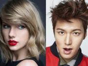 Lee Min Ho lên tiếng trước tin yêu Taylor Swift