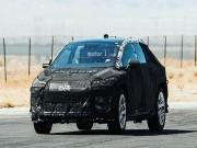 Tin tức ô tô - Faraday Future electric crossover lộ ảnh thử nghiệm tại sa mạc