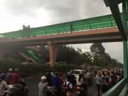 Tin tức trong ngày - Truy lùng đối tượng sàm sỡ các cô gái khi qua cầu vượt
