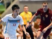 Dù thua, futsal Việt Nam vẫn được FIFA ngợi ca