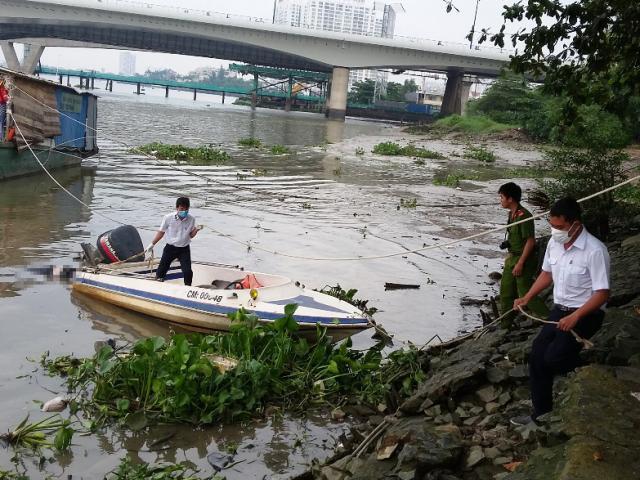 Thi thể nam thanh niên nổi trên sông sau 2 ngày mất tích - 3