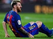 Bóng đá - Messi rách cơ háng, có thể nghỉ trận gặp Man City
