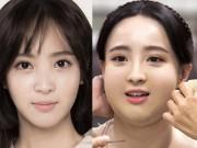 Màn hô biến mỹ nữ thành nàng béo mũm mĩm trong phim Hàn