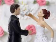 Tranh vui - Thông điệp hài hước từ những chiếc bánh cưới