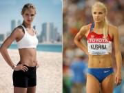 Thể thao - Nữ VĐV điền kinh xinh như minh tinh màn bạc