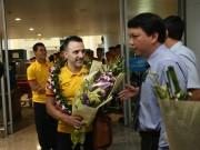 ĐT futsal Việt Nam về nước được thưởng nóng 1,5 tỷ đồng