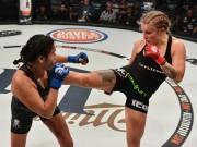 Thể thao - Hoa khôi MMA bị đánh bầm dập nhiều người thương