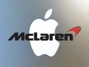 """Apple có kế hoạch  """" thâu tóm """"  McLaren?"""