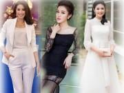 Thời trang - Huyền My, Phạm Hương đẹp nhất tuần với gam đen, trắng