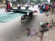 Tin tức trong ngày - Bé trai tử vong vì bị xe chở tôn cứa cổ