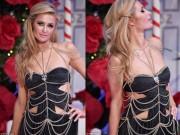 Thời trang - Ái nữ tỷ phú Paris Hilton lộ dáng thô khi làm người mẫu