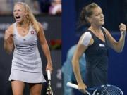 Thể thao - Cuộc đấu sắc đẹp tennis: Wozniacki hạ Radwanska