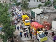 Tin tức trong ngày - Dòng người kéo dài 3km tiễn đưa 4 bà cháu ở Quảng Ninh