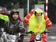 Tin tức trong ngày - Đầu tuần, mưa dông bao trùm cả nước